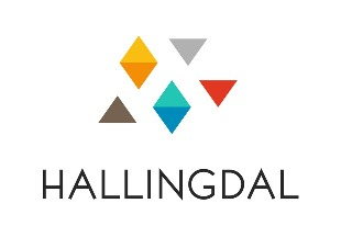 Hallingdal logo over halv str